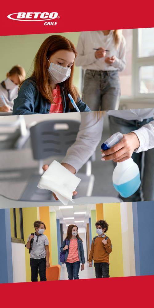 Programa de limpieza para establecimientos educacionales